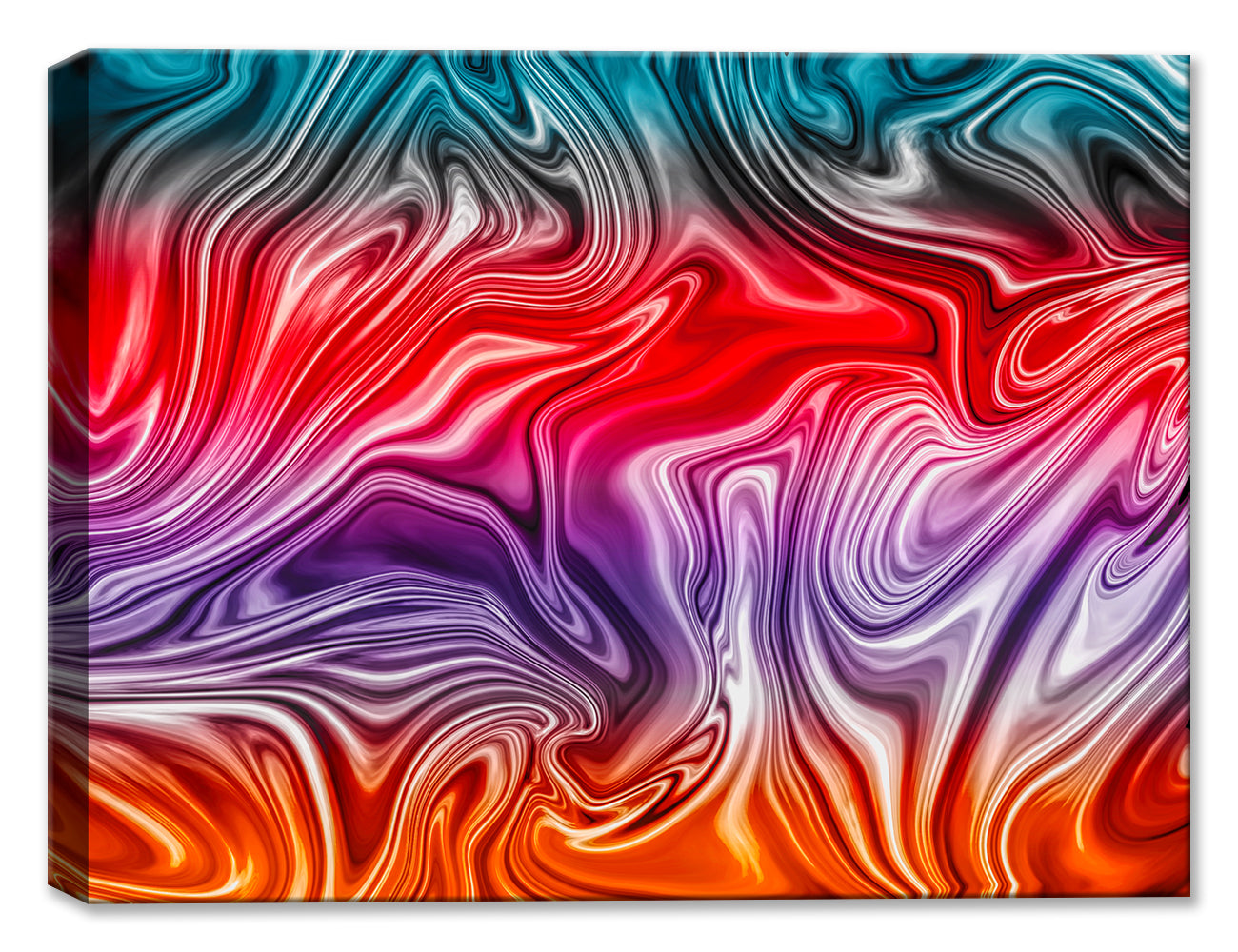Abstract Swirls #1 - Fine Art Canvas