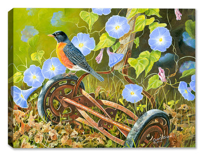 American Robin - Painting by Carol Decker - Canvas Art Plus