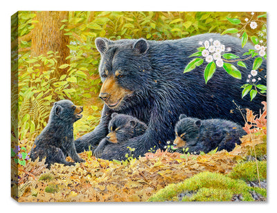 Crying Out Loud - Mama and Cubs - Canvas Art Plus