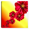 Red Flowers- Canvas Art - Canvas Art Plus