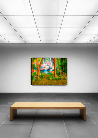 Enchanted Forest  - Painting on Canvas