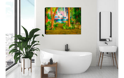 Painting on Bath Room Wall