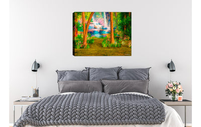 Painting on Bed Room Wall