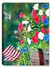 Garden Glory Hummingbird - Canvas Art Plus