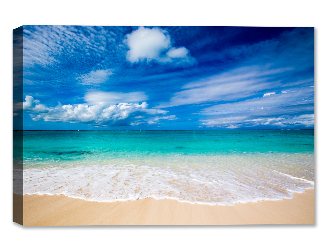 White Sand Beach - Weatherproof Art