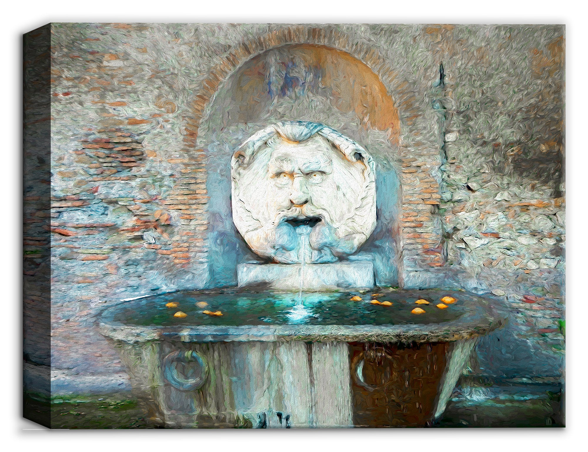 Garden of Oranges - Italian Fountain