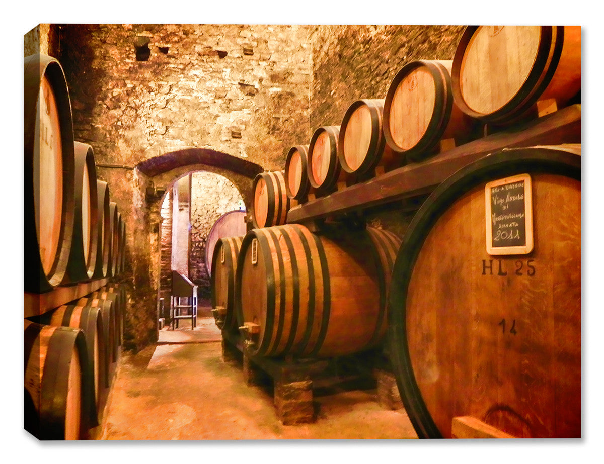 Italian Cellar - Indoor/Outdoor Art