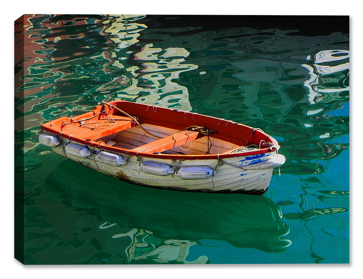 Portofino Boat - Indoor/Outdoor Art