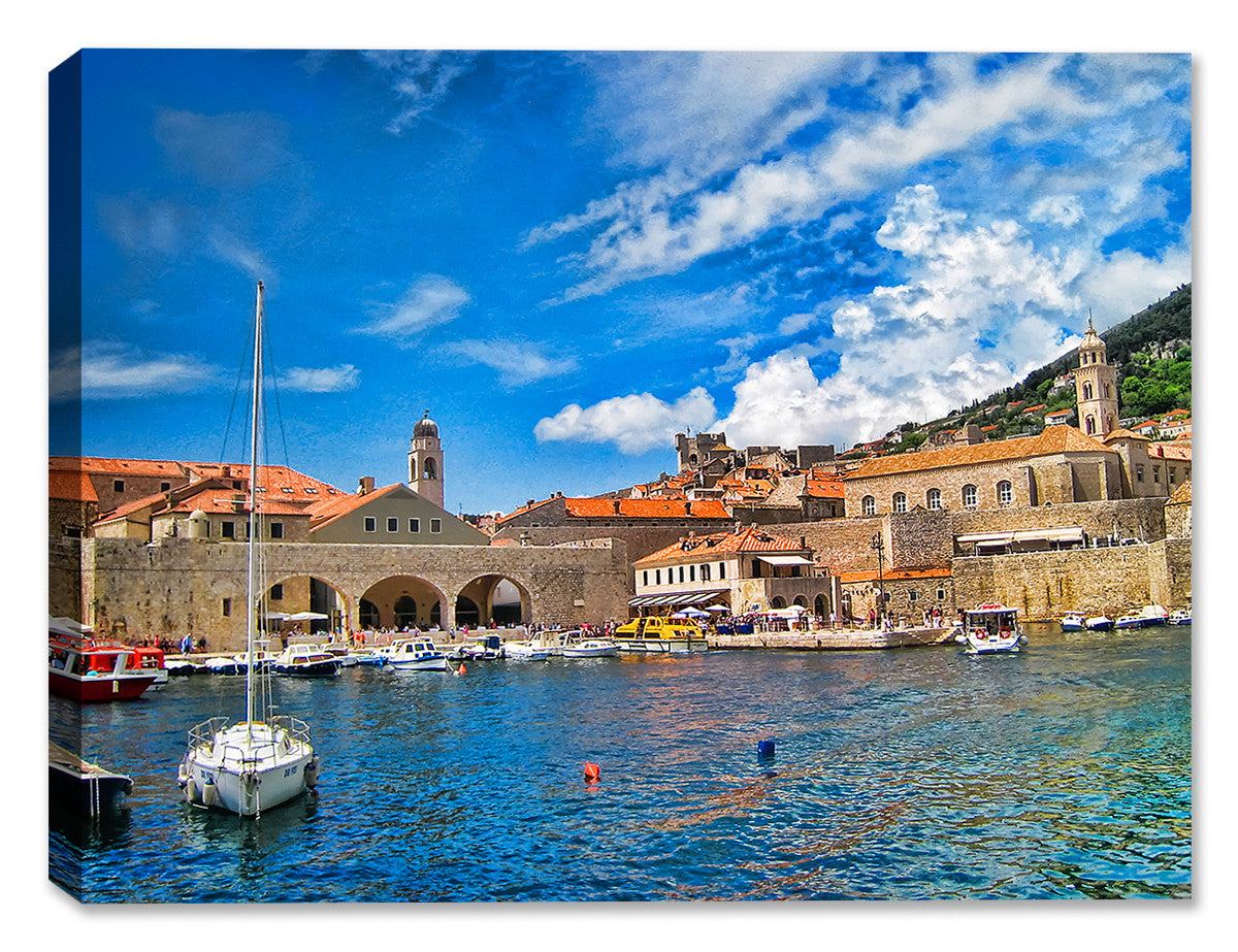 Port Dubrovnik - Indoor/Outdoor Art