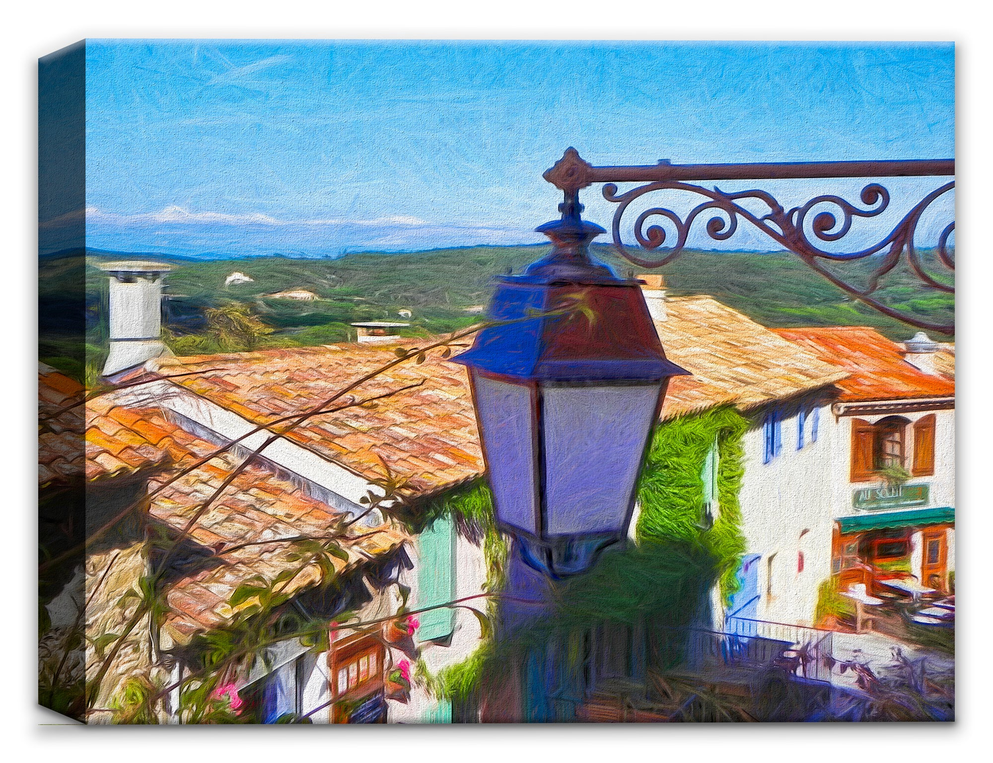 French Rooftops- Painting