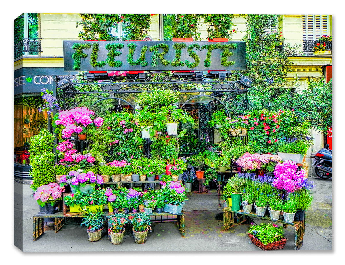 Fleur de Paris -  Indoor/Outdoor Art