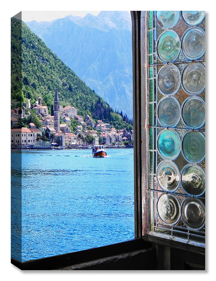 Bay of Kotor View -  Indoor Outdoor Art
