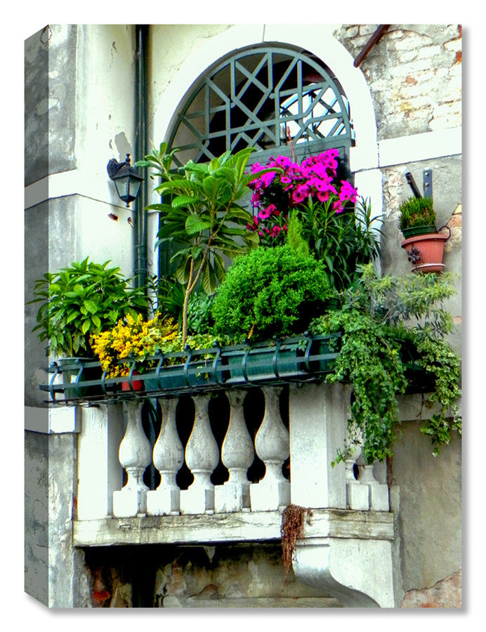 Venice Balcony -  Indoor Outdoor Art