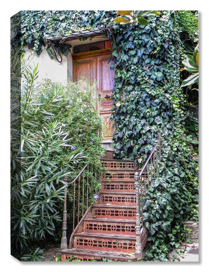French Stairs -  Indoor Outdoor Art