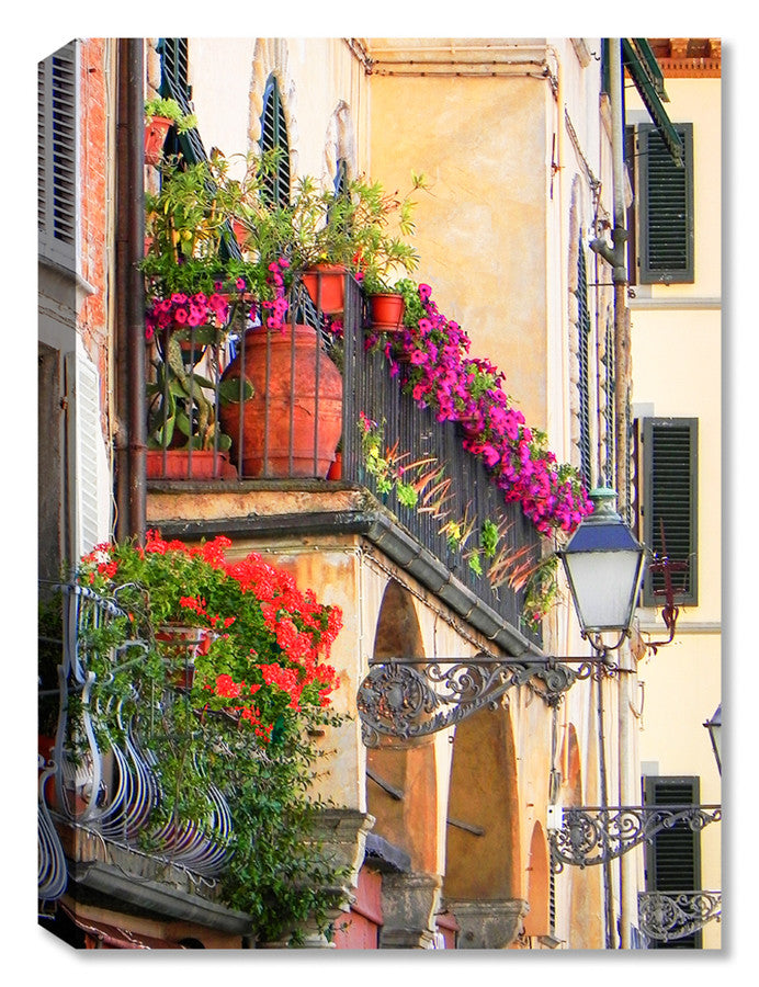 Lucca Balcony -  Indoor Outdoor Art