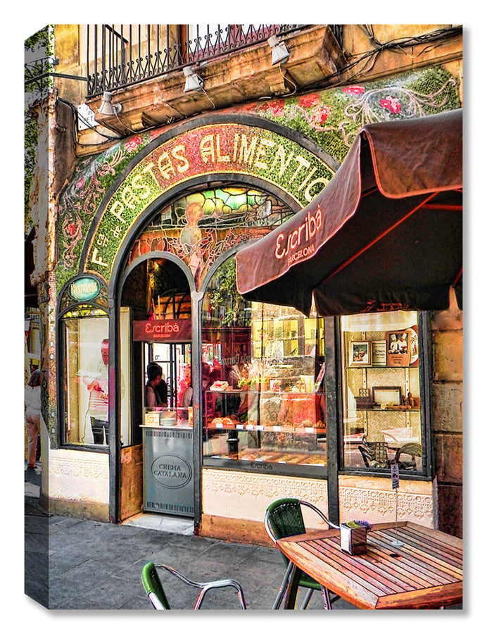 Barcelona Patisserie -  Indoor Outdoor Art