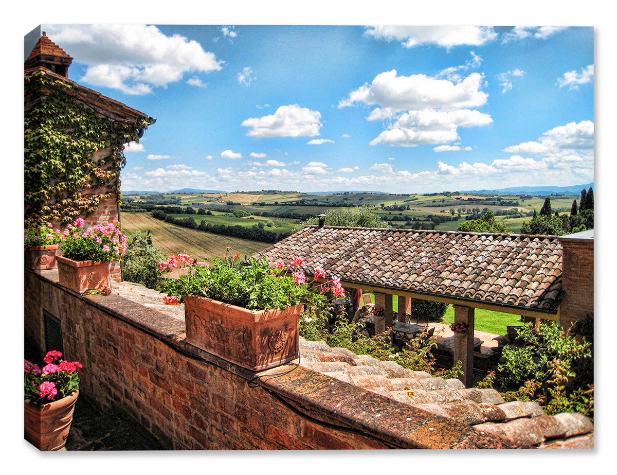 Tuscan Village - Indoor Art - Outdoor Art