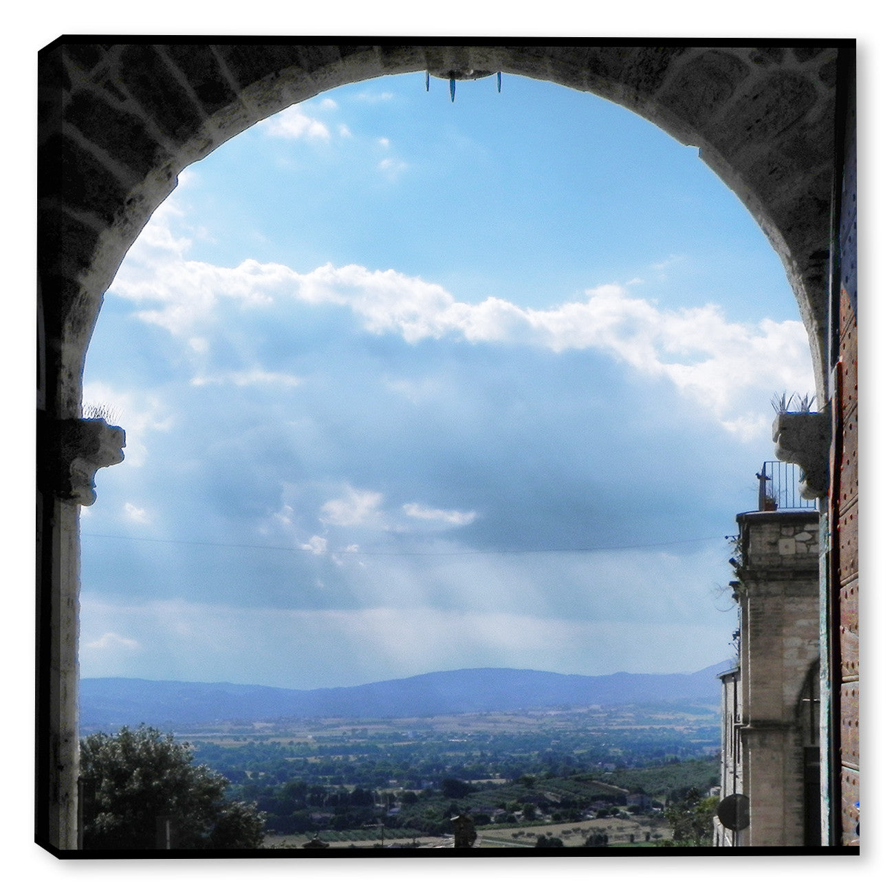 Heavenly Assisi - Indoor Art - Outdoor Art