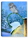 Night Light - Screech Owl - Canvas Art Plus