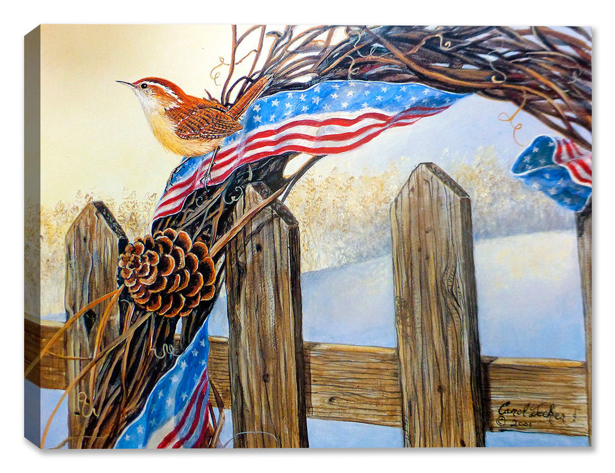 Old Glory - Morning - Canvas Art Plus
