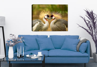 Avian Love Painting - Canvas Art