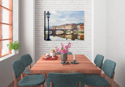 Ancient Bridge over the Water - Fine Art Painting