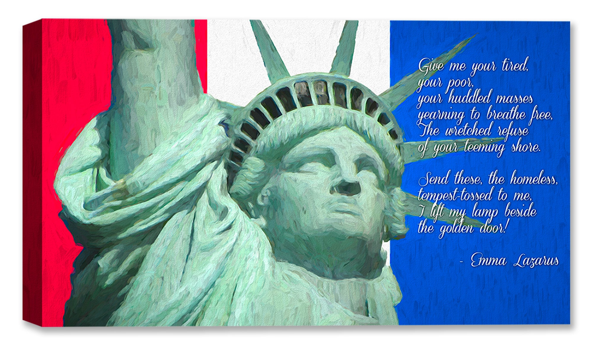 Statue of Liberty - Fine Art Painting - Special Limited Edition of 25 - Hand Signed