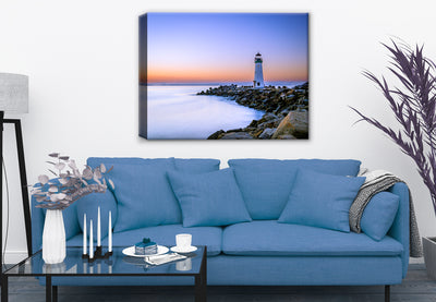 Santa Cruz Harbor - Walton Lighthouse- Fine Art Photography