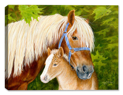 Queen and New Prince - Painting by Carol Decker - Canvas Art Plus
