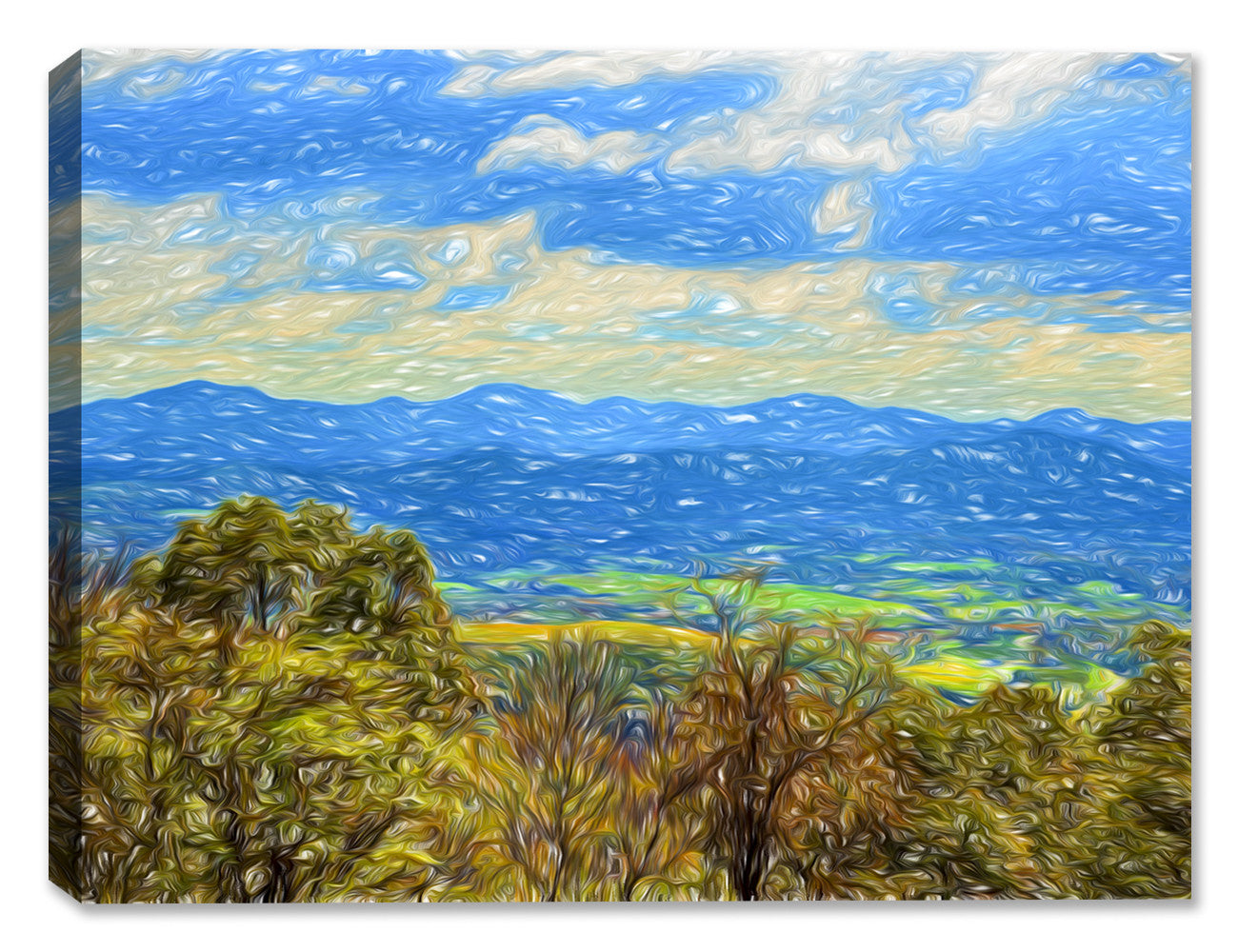 View from the Mountains - Canvas Art Plus