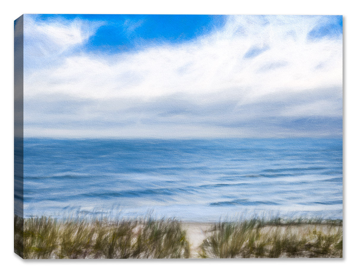 Serenity on the Ocean - Mixed Media Canvas - Canvas Art Plus