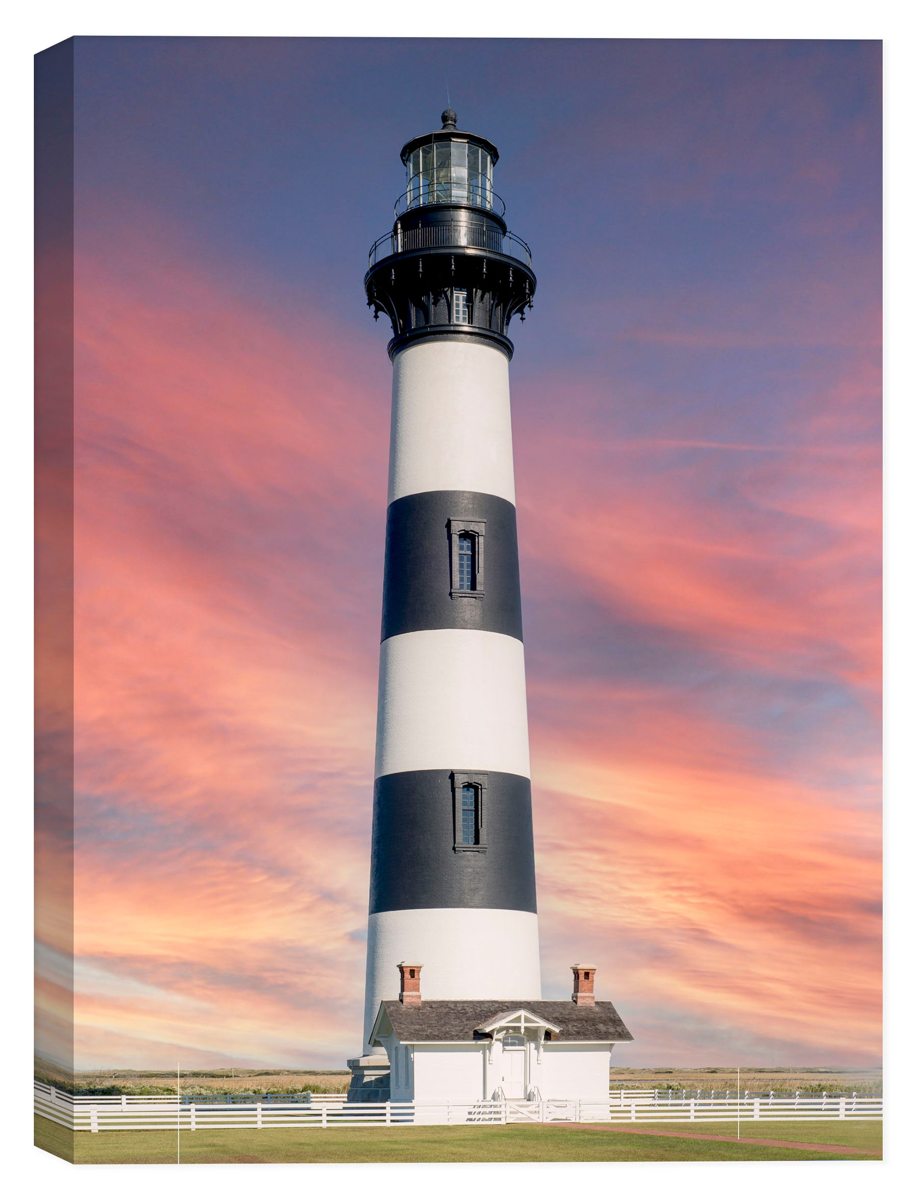 Bodie Island Lighthouse (Cape Hatteras) - Image on Canvas