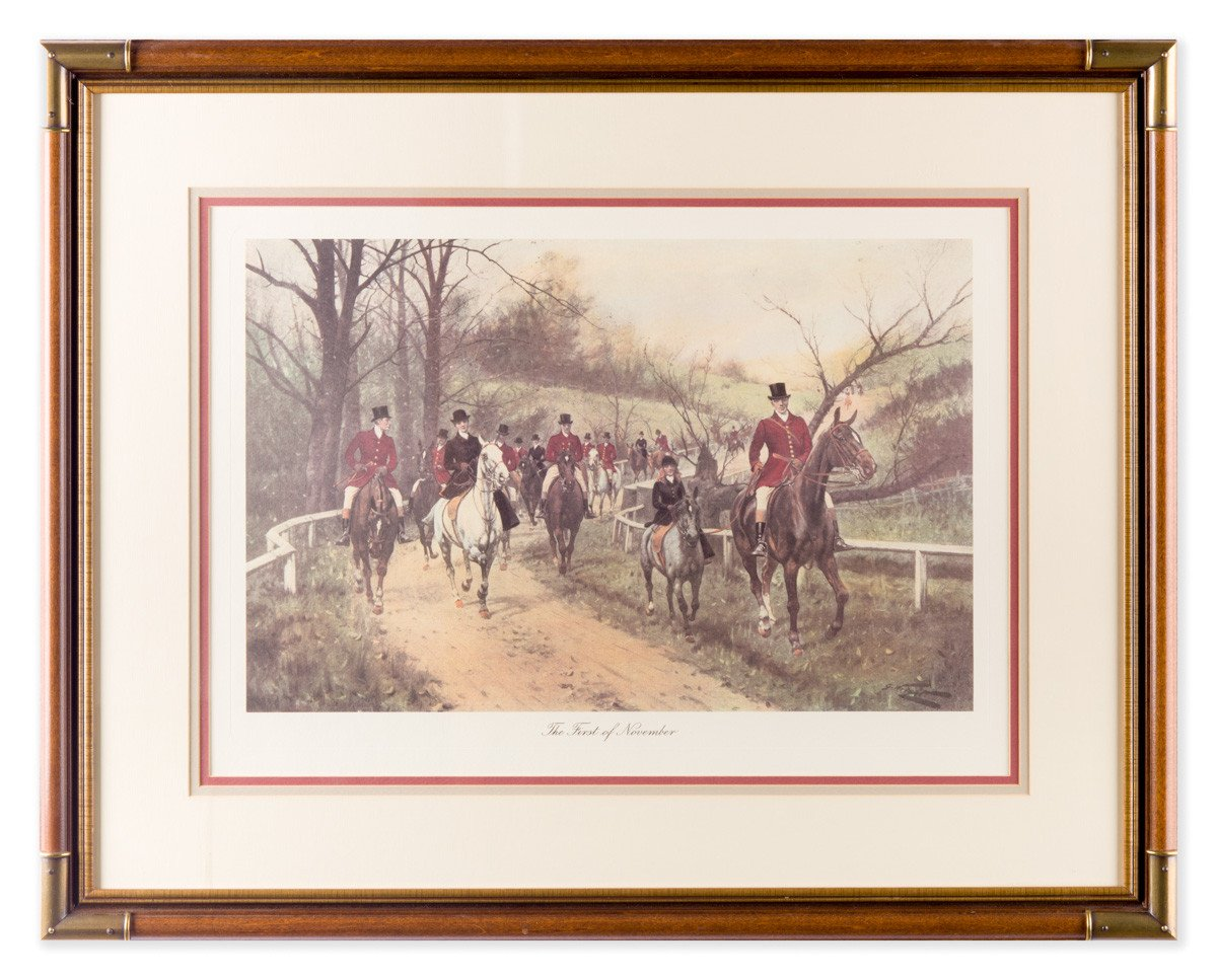 The First of November - Framed Art by George Wright - Framed Art