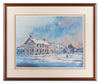 Dublin Drifts - by Annette Salrin - Framed Art