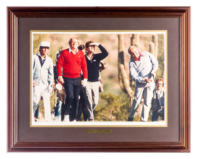 The Great Four - Jack Niklaus and... - Framed Art - Framed Art - 1