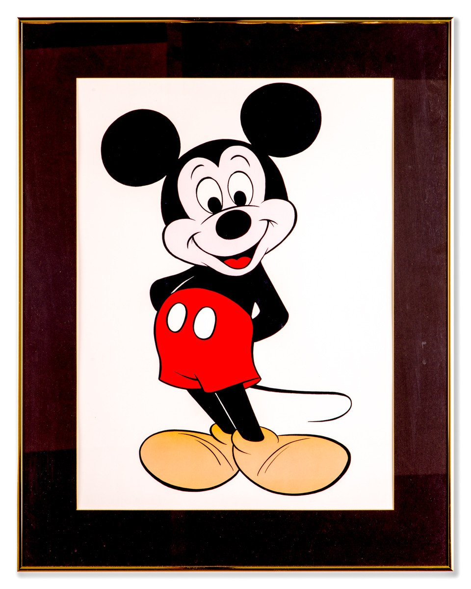 Mickey - Large Framed Print - Framed Art