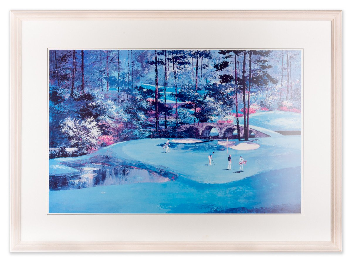 The Masters at Augusta Golf Club #12 Framed Art - Framed Art