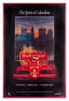The Spirit of Columbus - Car Race - Framed Art