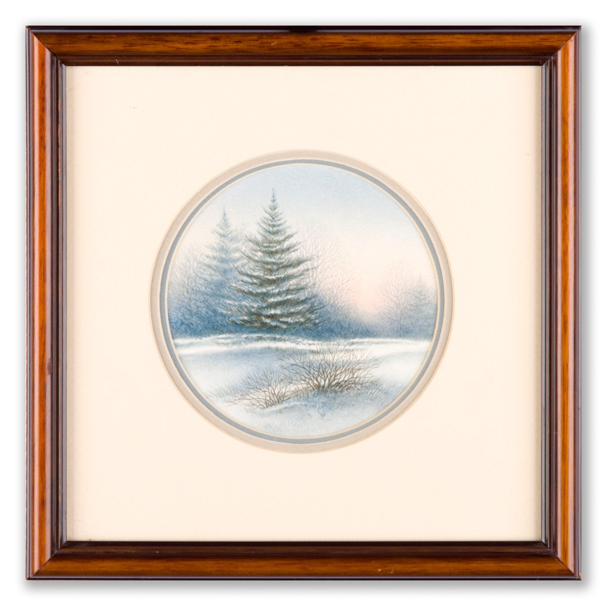 Winter Pines - Framed Art Print - Framed Art