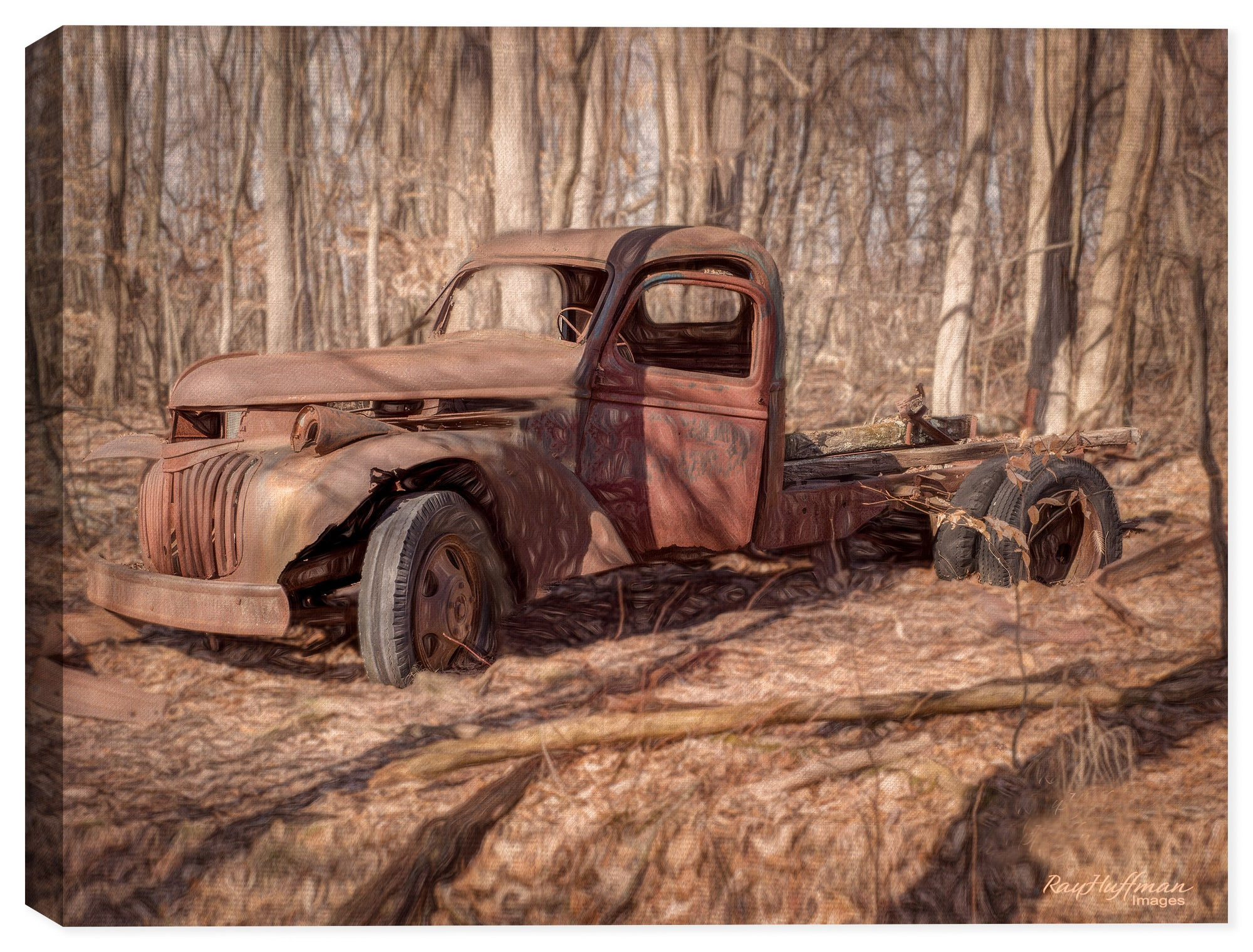 Abandoned - Vintage Truck deep in the Woods