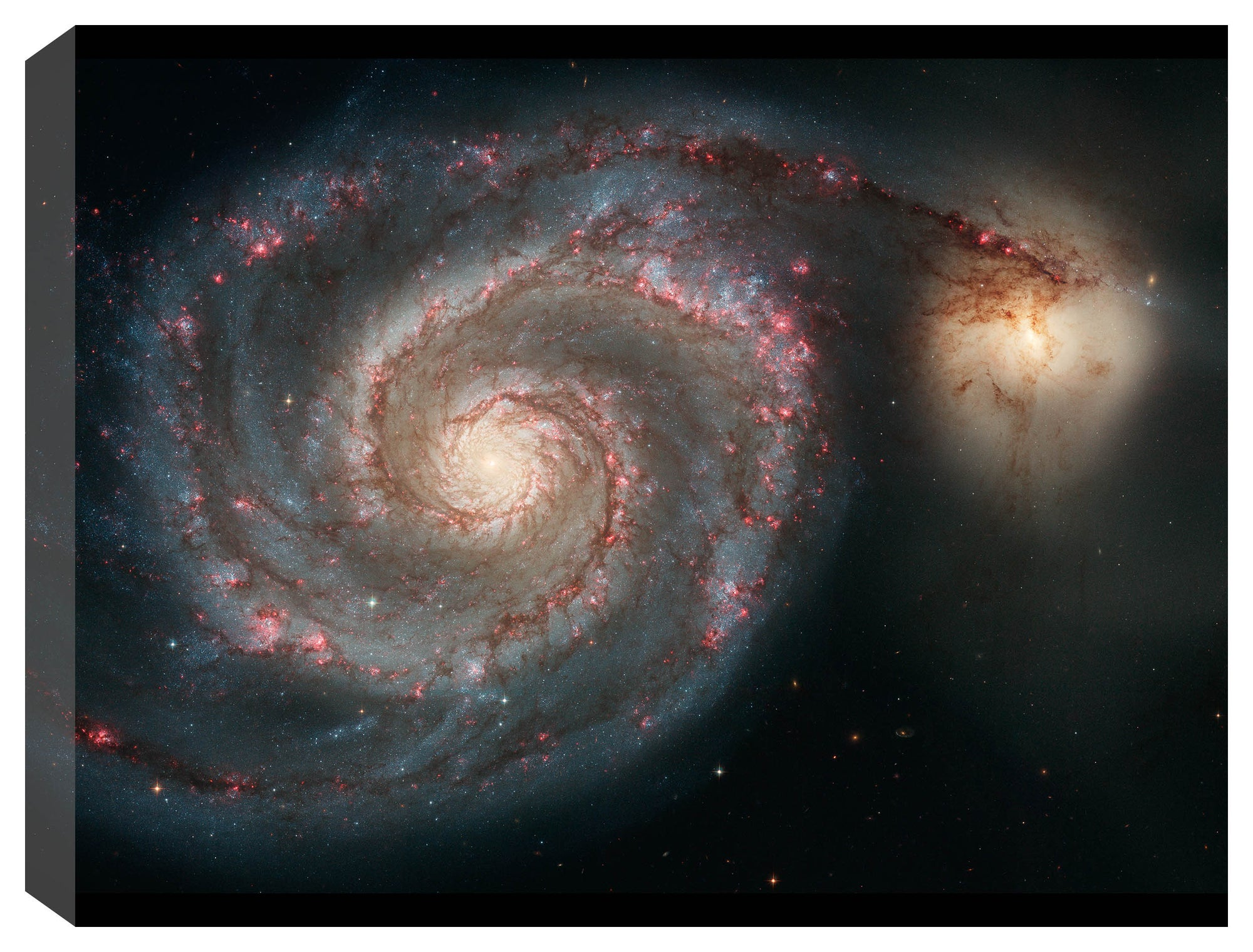 The Whirlpool Galaxy (M51)  - Space Photography