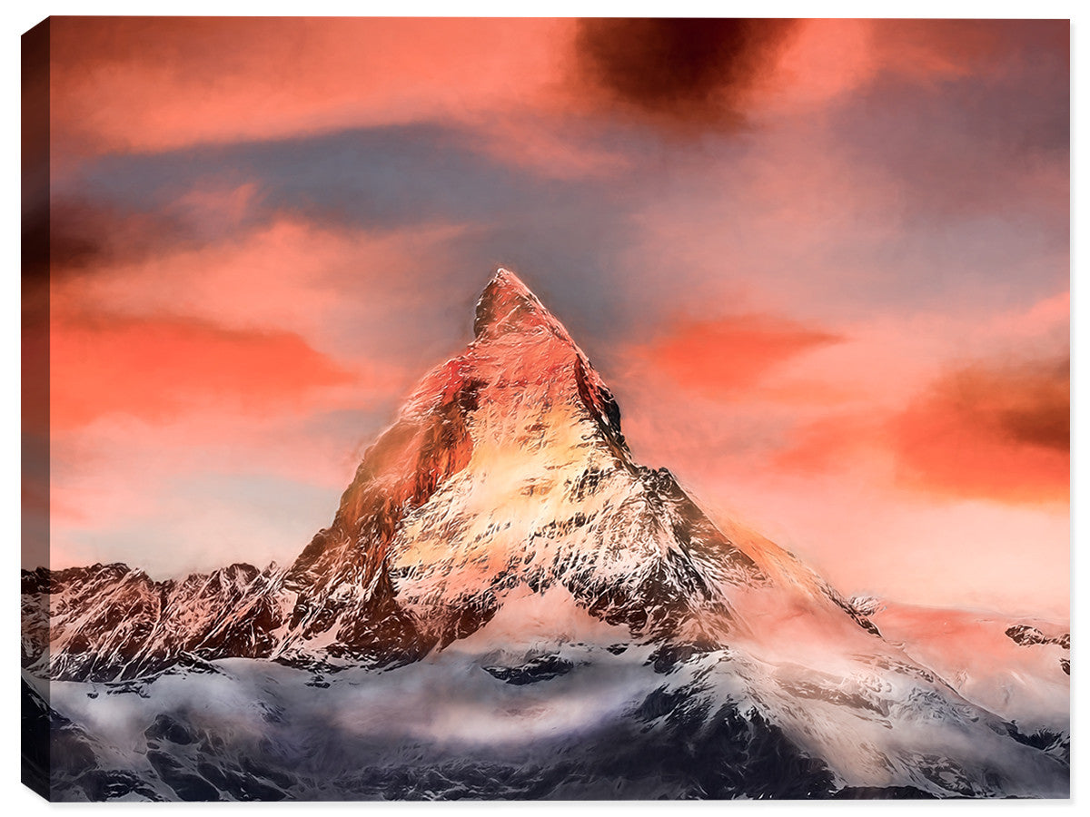 The Peak - Canvas Art Print - Canvas Art Plus