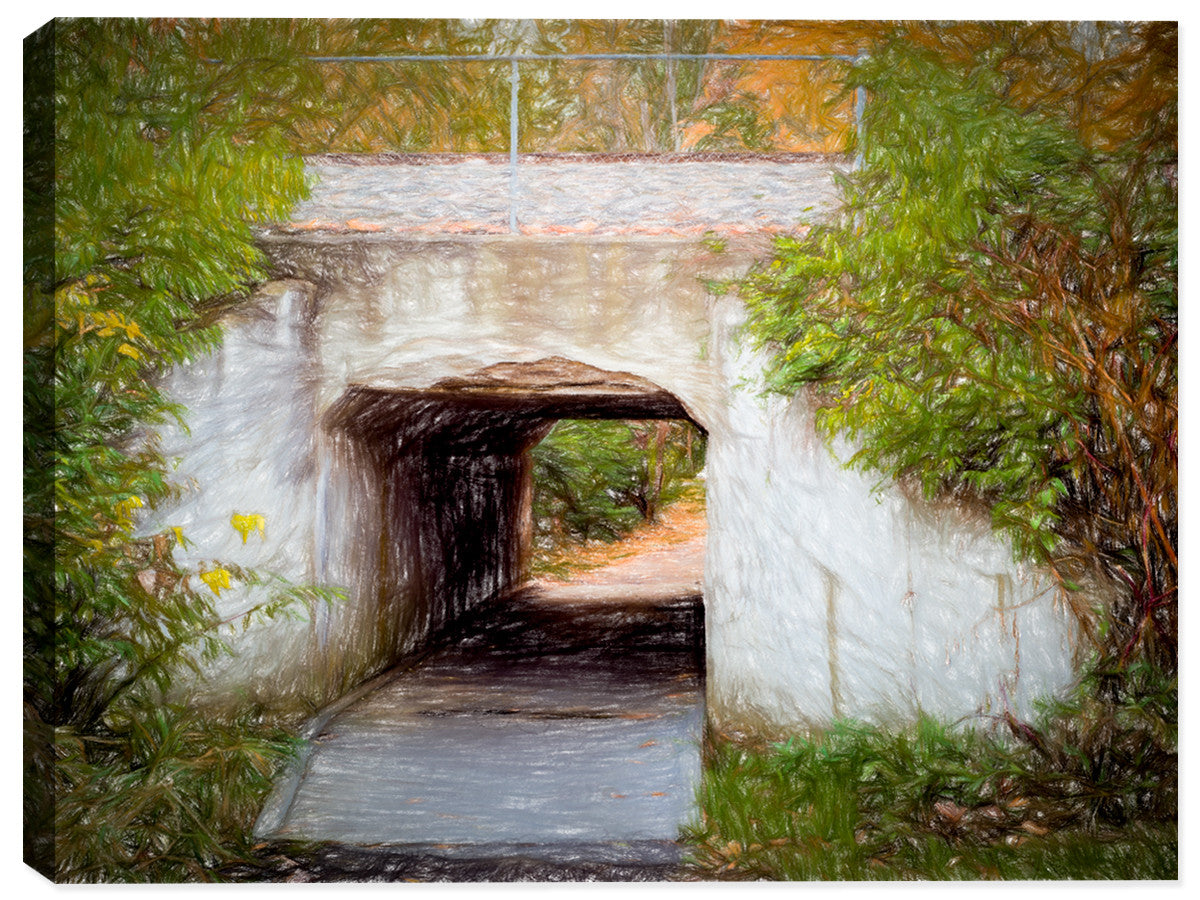 The Tunnel - Canvas Art Print - Canvas Art Plus