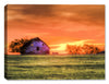 Red Sky Sunrise Painting - Canvas Art Plus