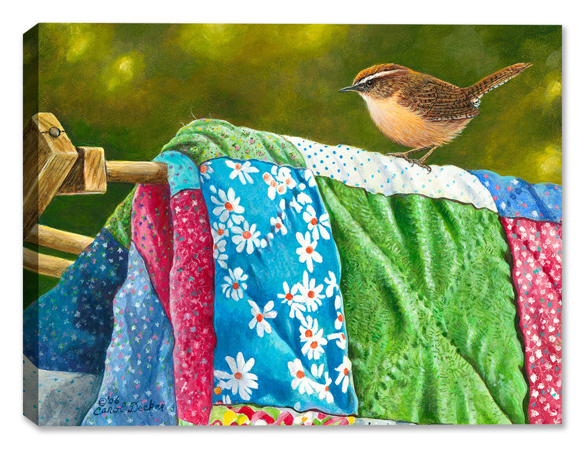 Wash Day - by Carol Decker - Canvas Art Plus