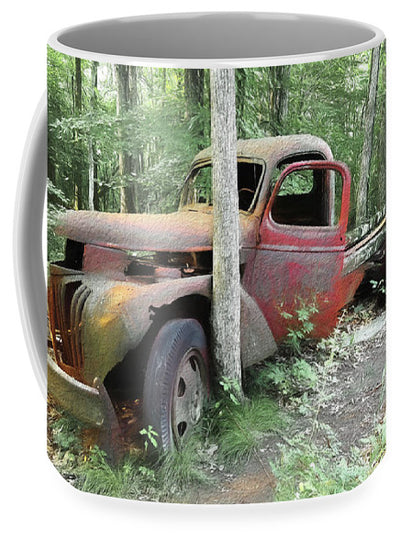 Mug with Pic of a old Truck