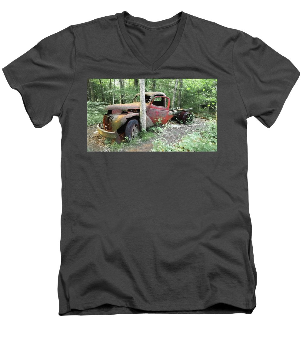Abandoned - Men's V-Neck T-Shirt