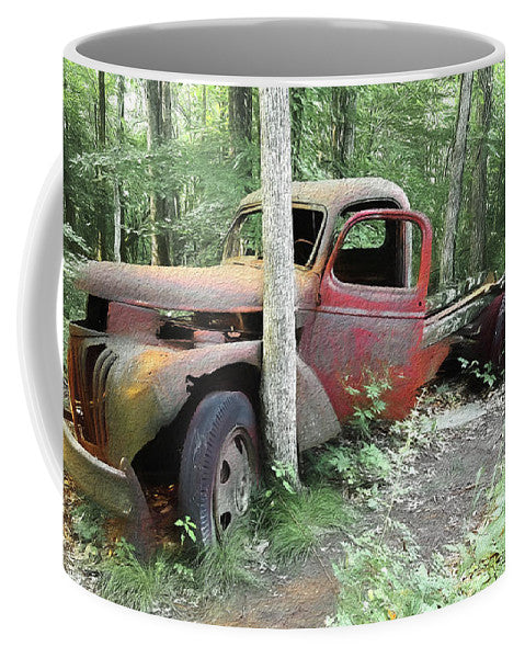 Coffee Mug with Pic of Old Truck