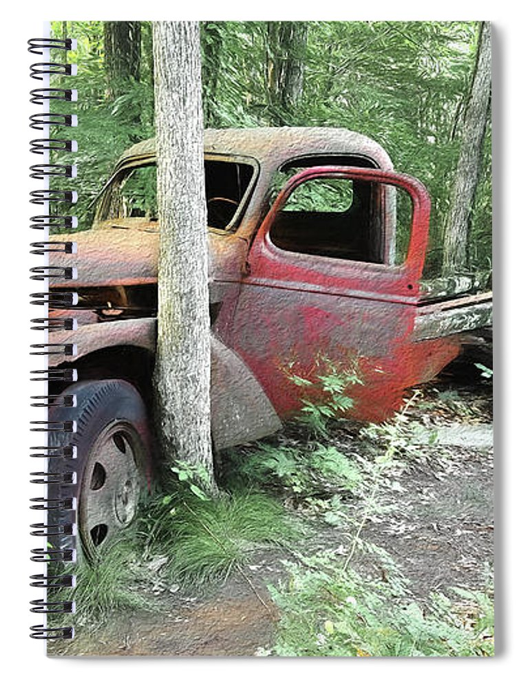 Abandoned - Spiral Notebook