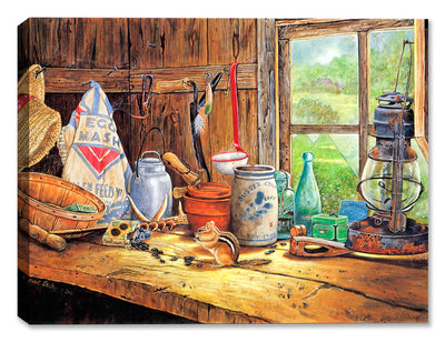 Bygone Days - Still Life by Carol Decker - Canvas Art Plus